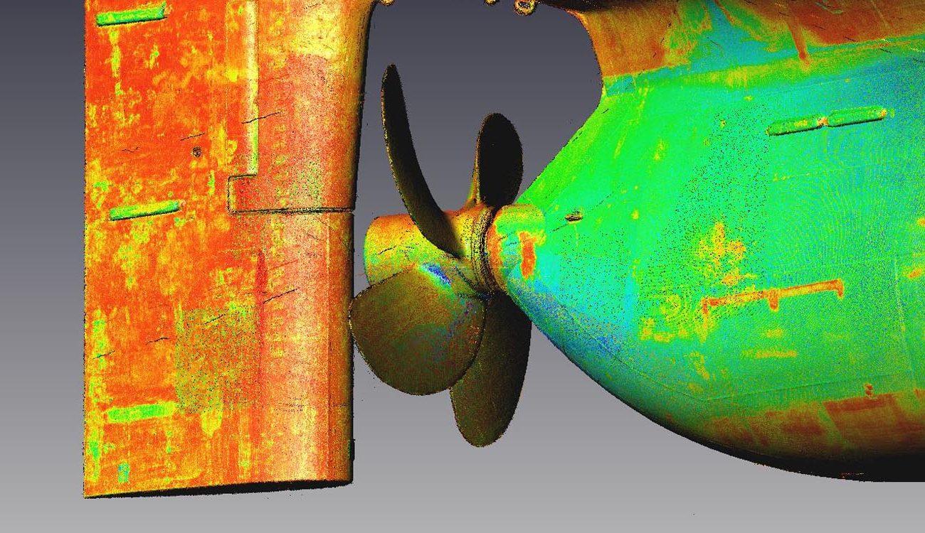 marine 3D laser scanning